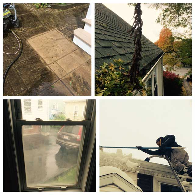 Window and gutter cleaning
